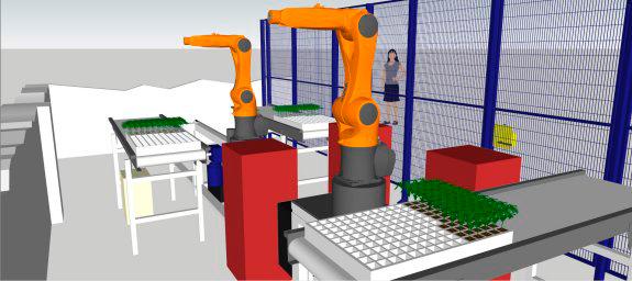 solución robótica INJEROBOTS