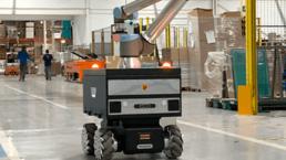 industrial mobile robots